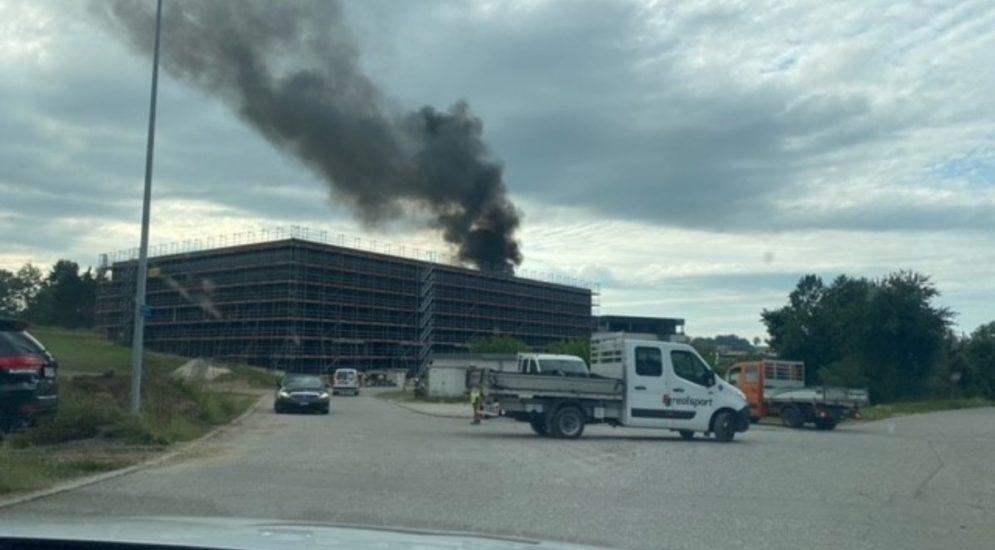 Brand Rossens FR - 3 Personen mit Rauchvergiftung