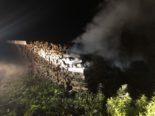 Feuerwehreinsatz nach Brand
