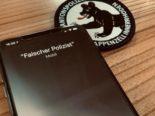 Appenzell AI: Falsche Polizisten treiben ihr Unwesen