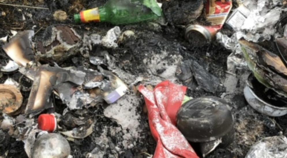 Vuisternens-en-Ogoz FR: Verantwortlicher für brennenden Müll angezeigt