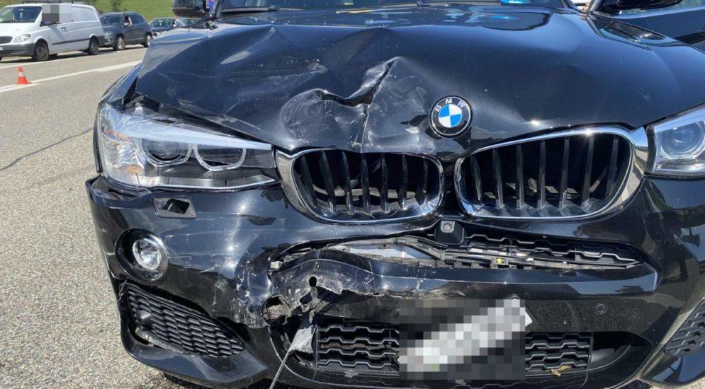 Wiedlisbach SO: Fünf Personen bei schrecklichem Unfall auf der A1 verletzt