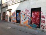 Solothurn: Massive Beschädigungen an Gebäude durch Sprayereien