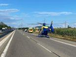 Oberbuchsiten SO: Zwei Fahrzeuge kollidieren bei Unfall auf A1