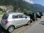 Netstal GL: Unfall zwischen vier Autos