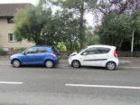 Näfels GL - Kolonnenverkehr zu spät bemerkt: Unfall
