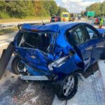 Unfall A5 Luterbach SO: LKW prallt heftig in Auto, sechs Menschen im Spital