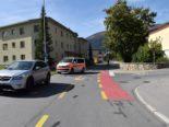 Davos Platz GR: Radfahrer bei Unfall mit Auto schwer verletzt