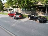 Chur GR: Unfall mit drei Fahrzeugen