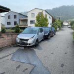Zunzgen BL: Alkoholisierter Lenker (21) verursacht Unfall mit parkiertem PW