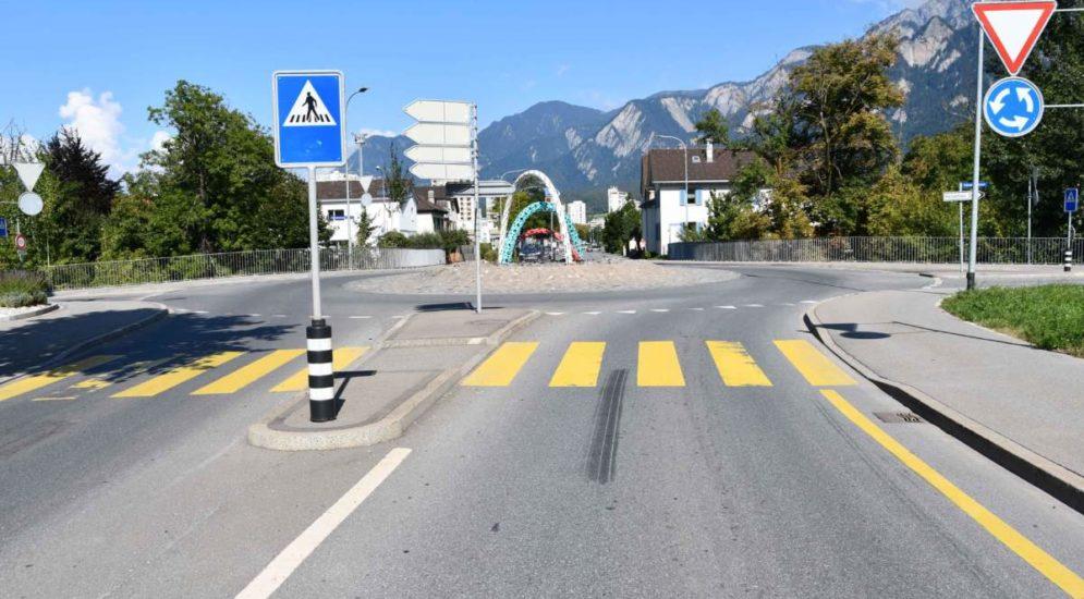 Chur GR: Velofahrer bei Unfall verletzt