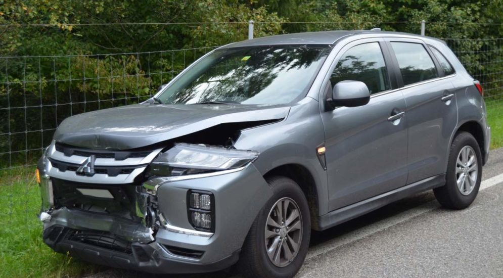 Teufen AR: Unfall vor der Leuenbachbrücke