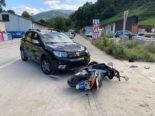 Reigoldswil BL - Unfall: Autofahrer übersieht Rollerlenker (18)