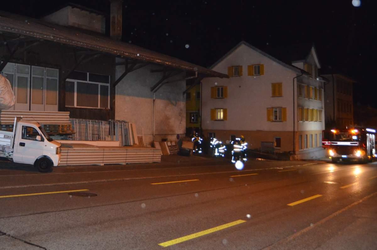 Herisau AR: Einbruch und Brand in Hanf-Indooranlage