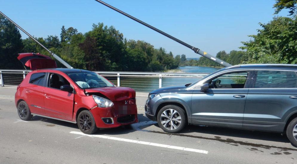 Kradolf TG: Bei Unfall wegen medizinischem Problem mit Lenker (18) kollidiert