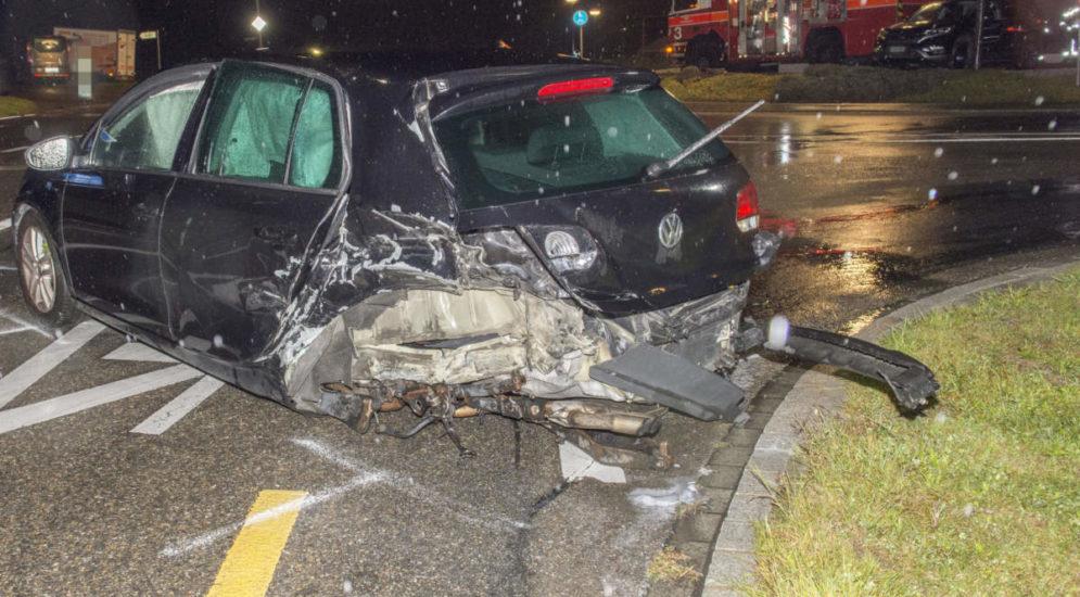 Wuppenau TG: 23-Jährige Lenkerin nach Unfall verletzt