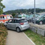 Widen AG: Skurrile Irrfahrt endet in Mauer