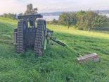 Triboltingen: Mann bei Baggerunfall schwer verletzt