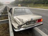 Unfall A1 Lenzburg AG: BMW-Fahrer alkoholisiert in Leitplanke geprallt