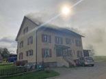 Bätershausen TG: Zwei Personen nach Brand im Spital
