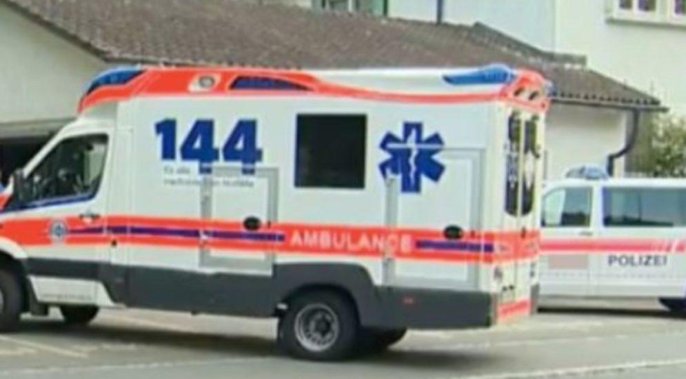 Tägerschen TG - Velofahrer nach Unfall mit Auto verletzt