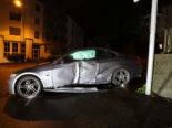St.Gallen: BMW-Lenker (18) baut nach Kokainkonsum heftigen Unfall