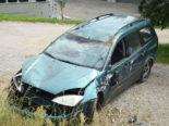 Bazenheid SG: 83-Jähriger ohne Führerausweis verursacht Unfall