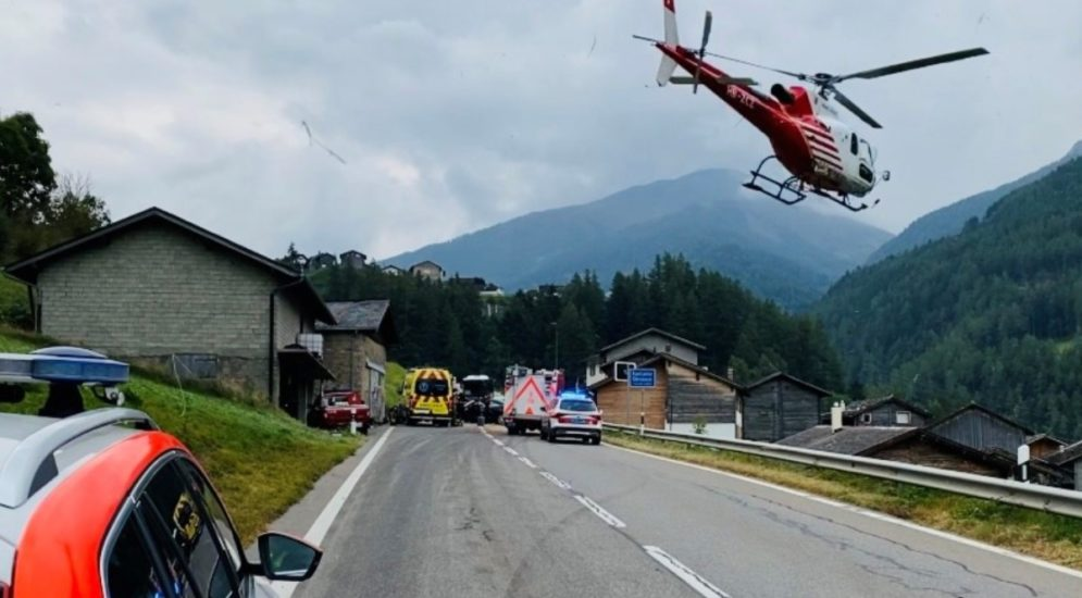 Grosser St. Bernhard VS: Mann stirbt bei Unfall