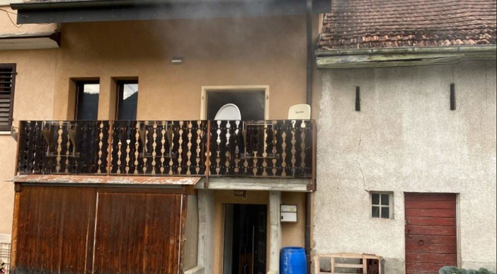 Liesberg BL: Verpuffung mit Brandausbruch