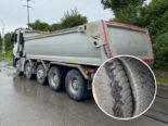 Vaulruz FR: Lastwagen vor Ort stillgelegt