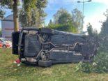 Volketswil ZH: Autofahrer (43) bei Unfall im Fahrzeug eingeklemmt