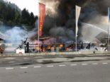 Brand in Schluein fordert eine Million Franken Sachschaden