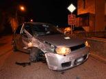 Gossau SG: Bei Unfall alkoholisiert gegen Steinmauer geprallt