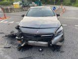 Edlibach ZG: Automobilist kollidiert bei Unfall mit Auto einer Junglenkerin