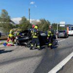 Schwerer Unfall in Küssnacht SZ wegen medizinischem Problem