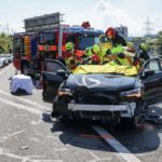 A4 Küssnacht SZ: Horror-Unfall fordert sechs zum Teil schwer Verletzte