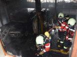 Muolen SG: Rauchentwicklung in Werkstatt nach Schweissarbeiten