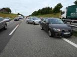 Niederwil SG: Gleich mehrere Unfälle und Pannen auf der A1