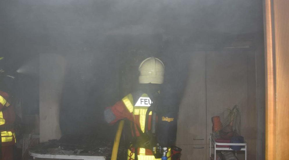 Oberschan SG: Brand in Hotel fordert über 100'000 Franken Sachschaden