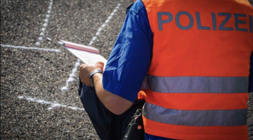 Göschenen UR: Unfall in einer Baustelle auf der A2