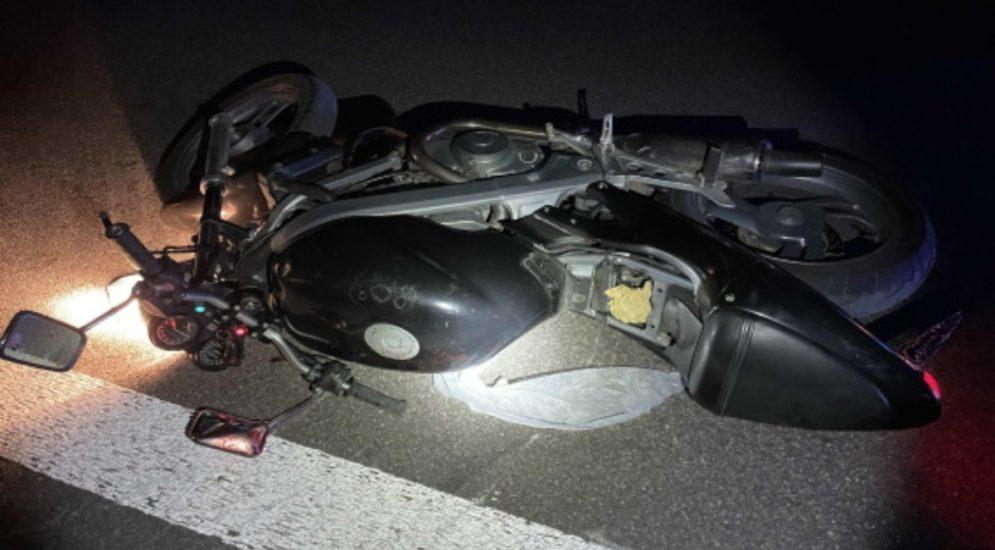 Unfall A12 Joux des Ponts FR - Motorradfahrer schwer verletzt: Unterarm abgerissen