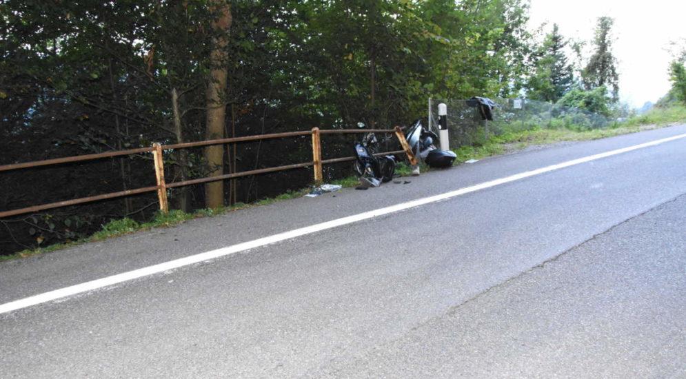Unfall Schmerikon SG: 15 Meter hinunter geschleudert und schwer verletzt