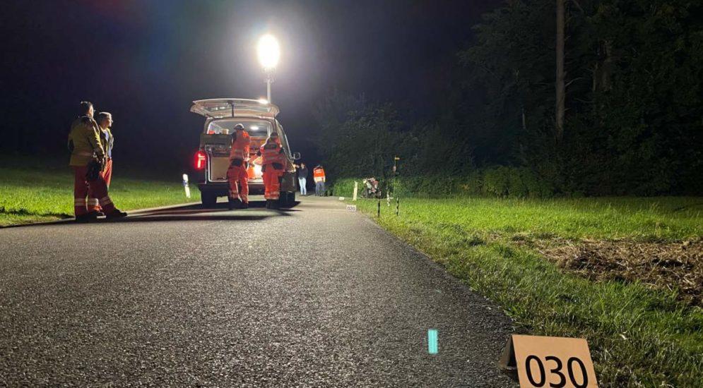Agasul (Illnau-Effretikon): Motorradfahrer bei Unfall schwer verletzt