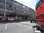 Uznach SG: Trafo in Einkaufszentrum gerät in Brand