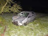 Dörflingen SH: Lenker und Beifahrerin nach Unfall ins Spital gebracht