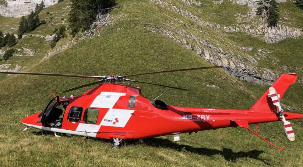 Walenstadtberg SG - Pilot springt in den Tod
