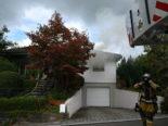 Wil SG: Brand in Einfamilienhaus