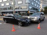 St.Gallen: Heftiger Unfall bei Verzweigung