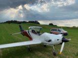 Adligenswil LU: Kleinflugzeug muss auf Feld notlanden