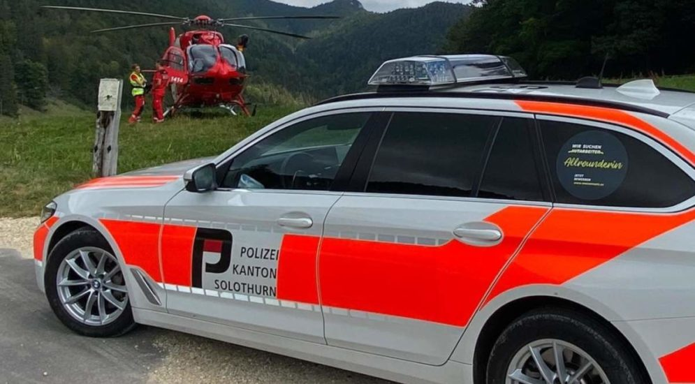Matzendorf, Oberdorf SO: Zwei Gleitschirmflieger verunfallt