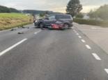 Siviriez FR: Fahrerin übersieht bei Unfall Motorradlenker